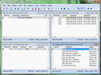 You can export dbf file data to dbf, sql, csv, txt, xls, html file formats.